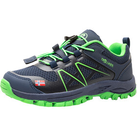 TROLLKIDS Sandefjord Hiker Low-Cut Schuhe Kinder navy/green